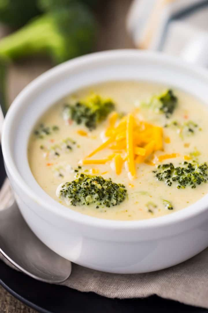 Fresh Broccoli Cheese Soup Recipe
