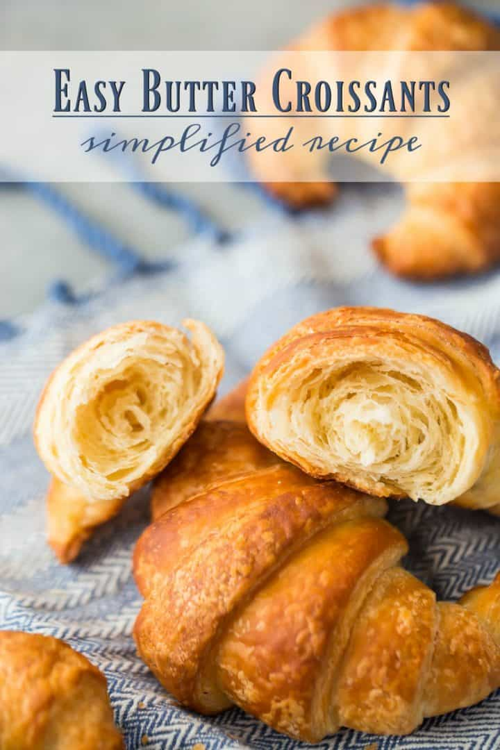 Easy Croissant Recipe: this way is so much easier! -Baking a Moment