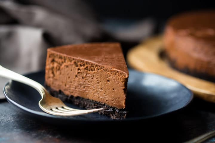 Chocolate Cheesecake Recipe Oreo Crust