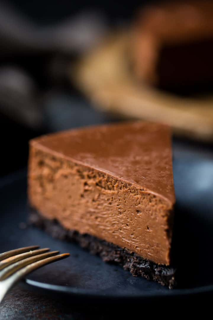 Baked Chocolate Cheesecake Recipe