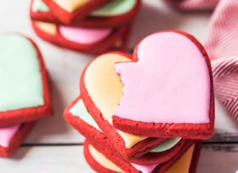 Best Red Velvet Sugar Cookies
