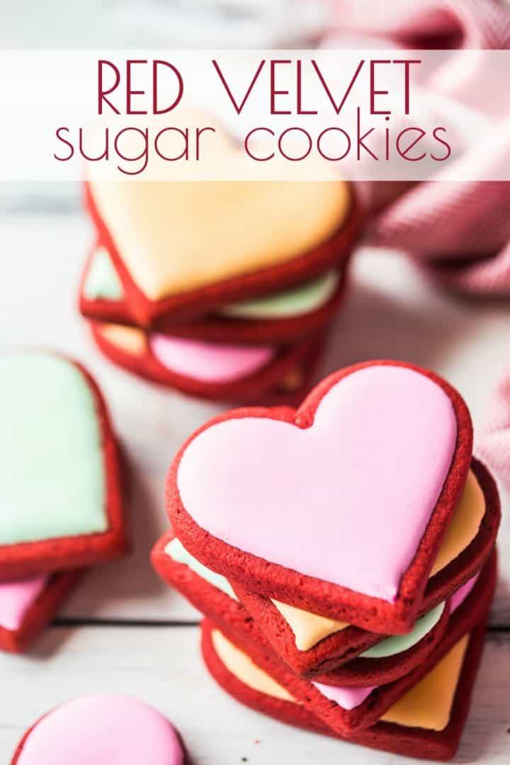 Easy Red Velvet Sugar Cookie Recipe