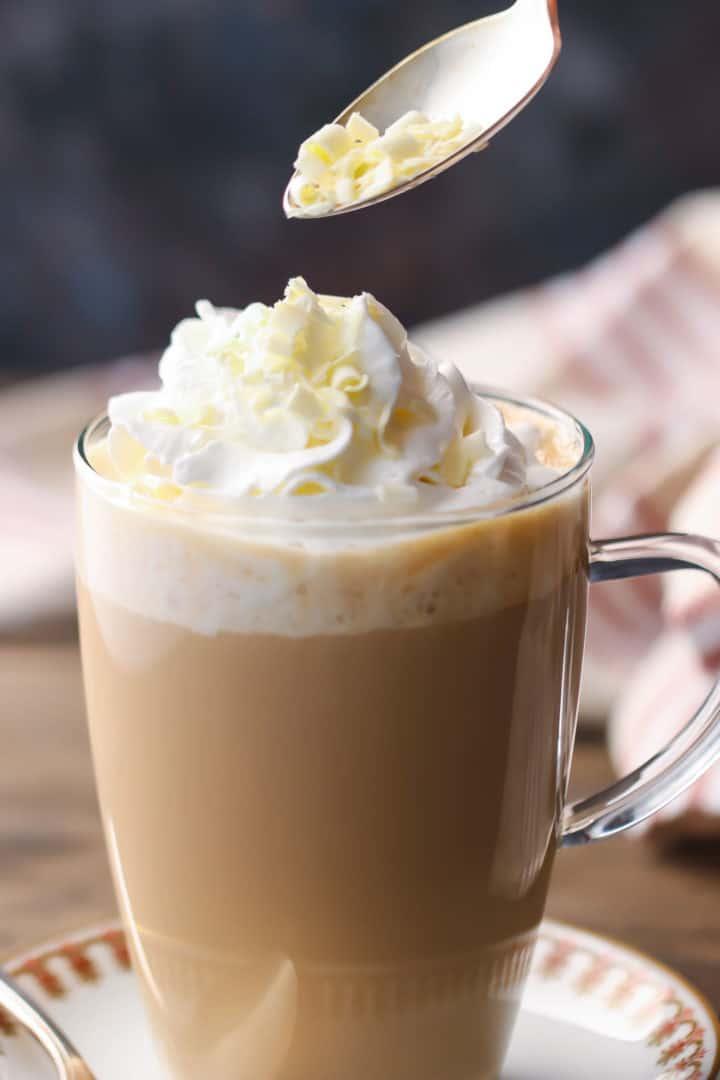 Starbucks White Chocolate Mocha Recipe