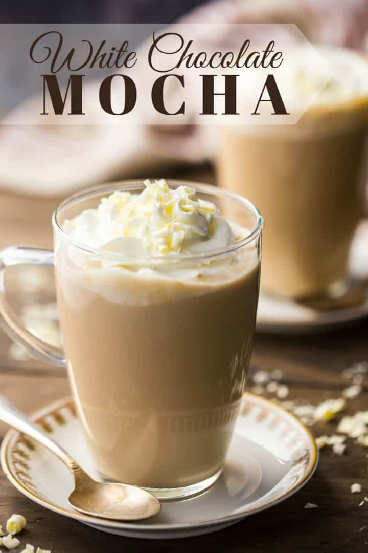 White Chocolate Mocha: so easy to make