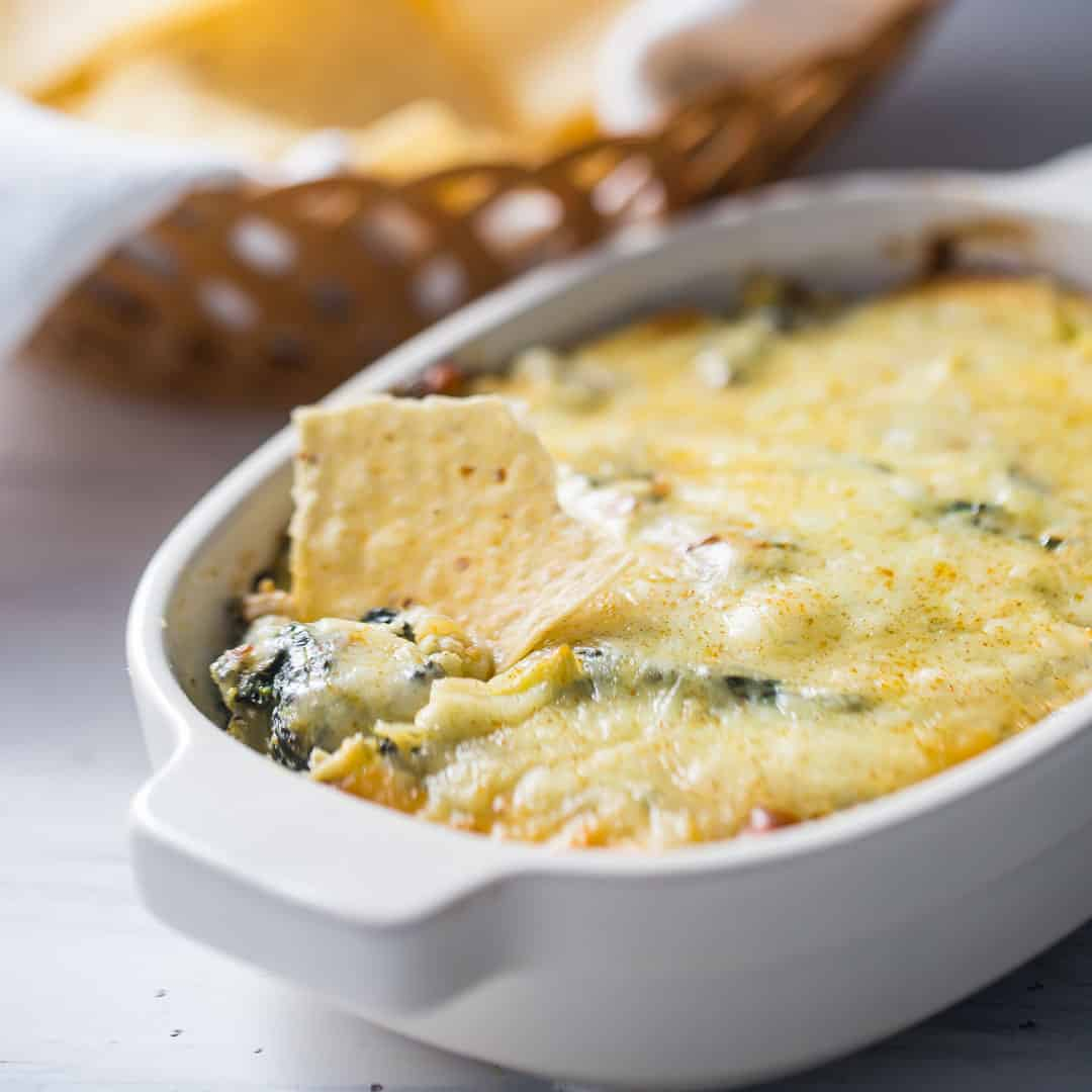 Spinach Artichoke Dip Baking A Moment
