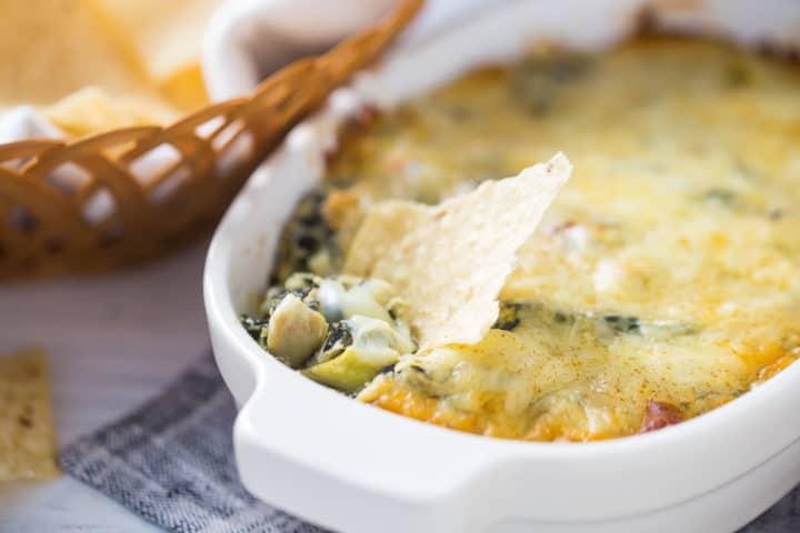 Spinach Artichoke Dip No Mayo Recipe