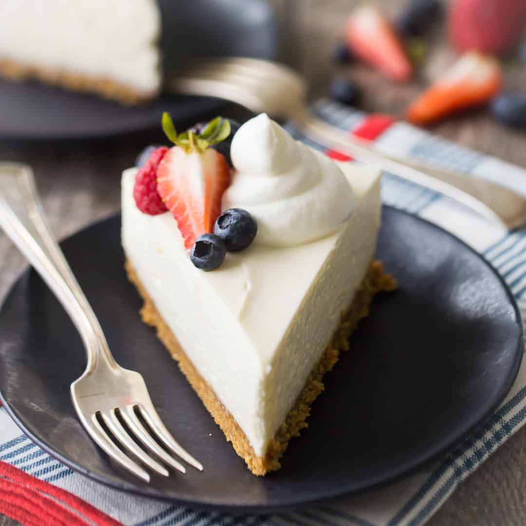 No-Bake Cheesecake: So Fluffy Smooth & Easy To Make