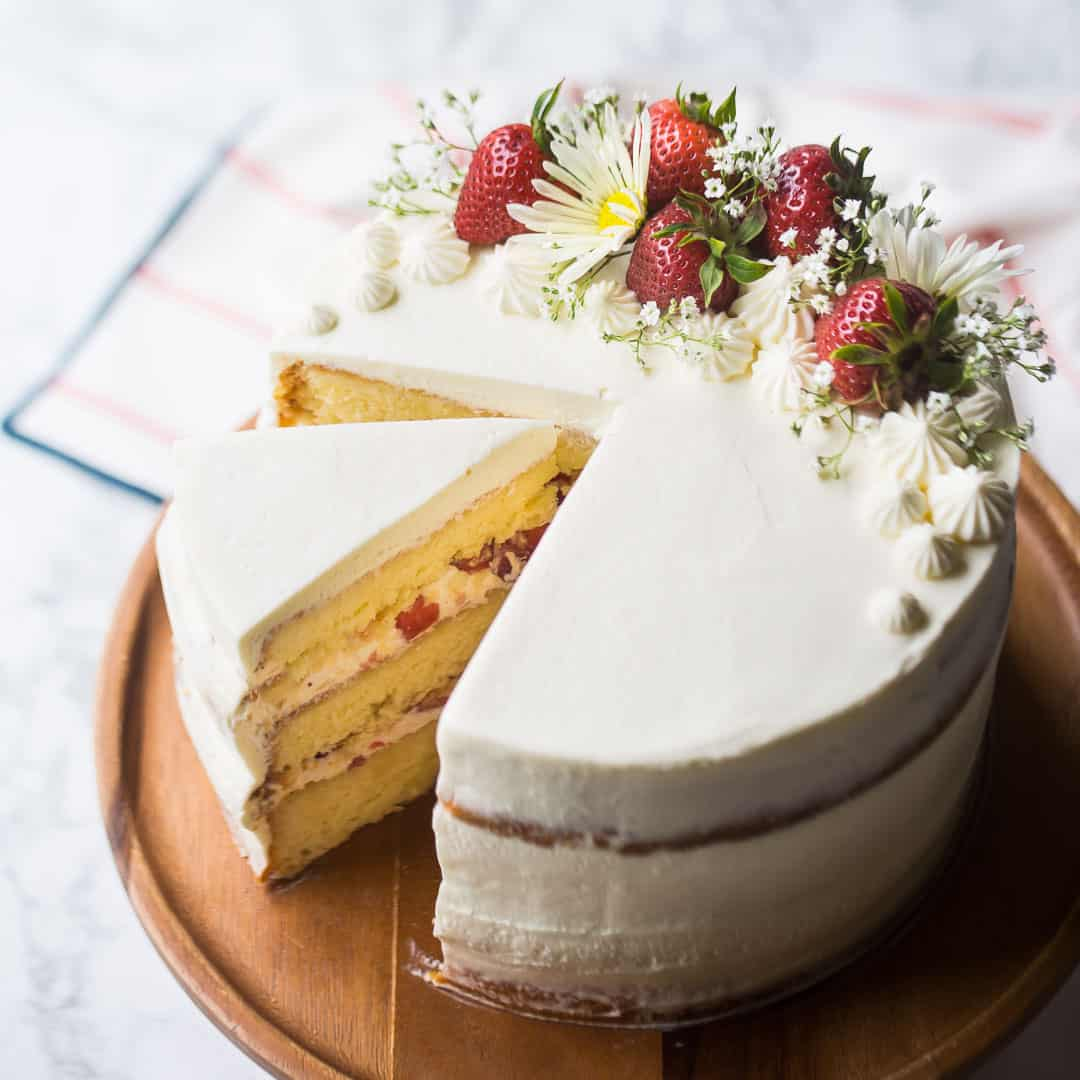 Strawberry Shortcake Cake So Summery Fresh Baking A Moment