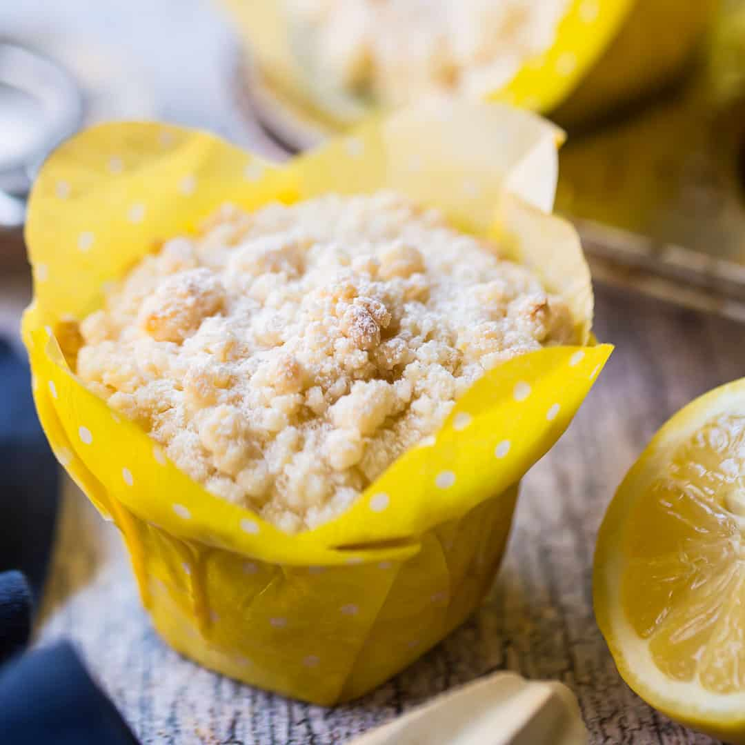 Lemon Crumb Muffins So Moist Citrus Y Baking A Moment