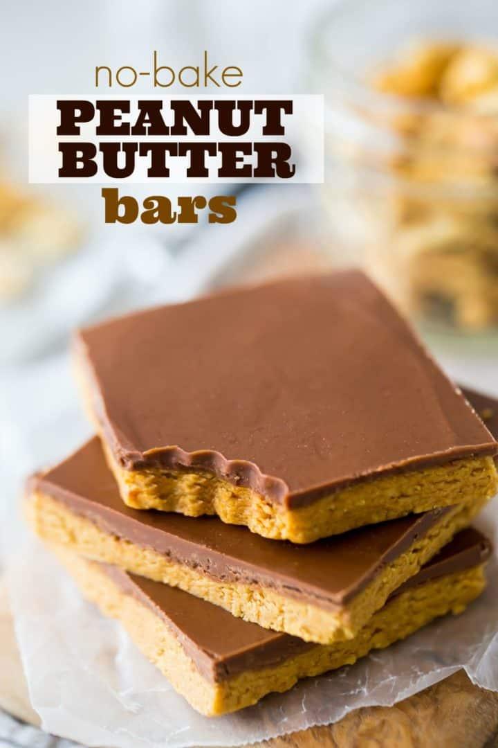 Peanut Er Bars Easy No Bake 4