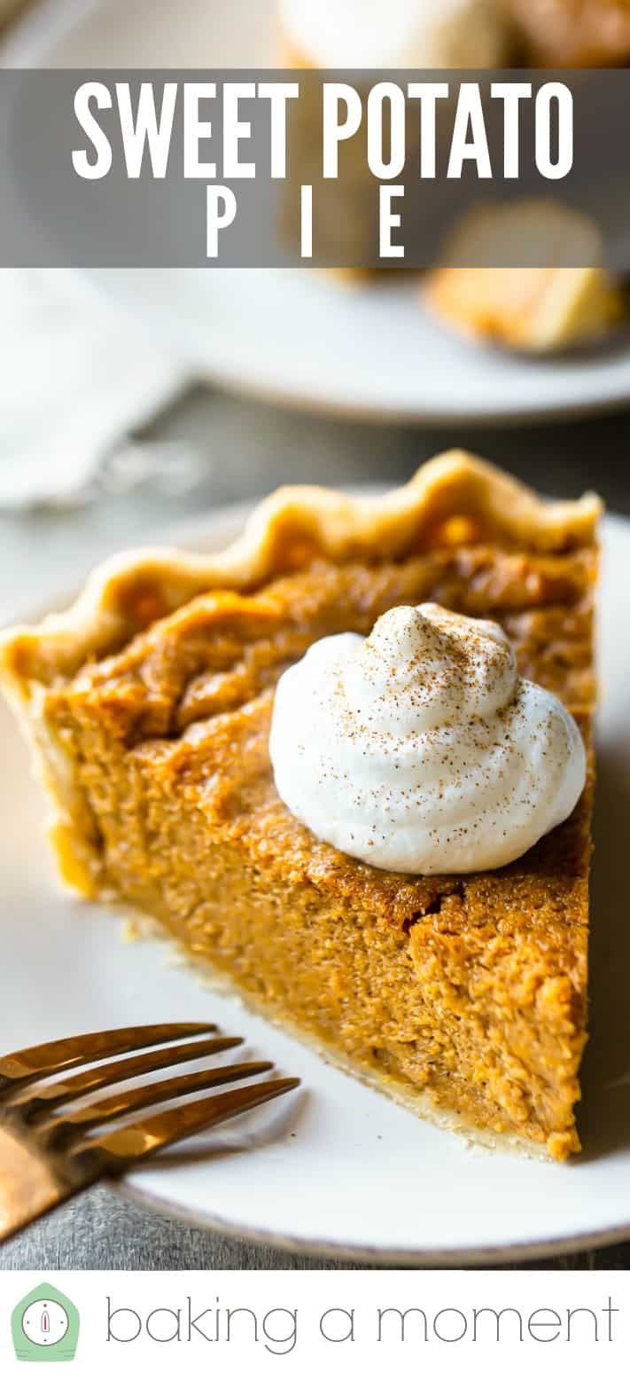 Sweet Potato Pie Recipe Pin 2