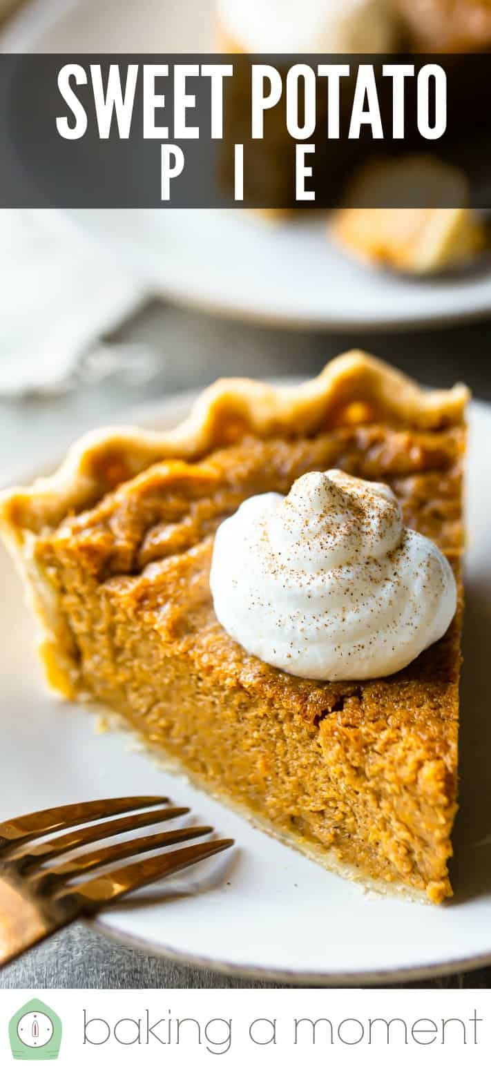 Sweet Potato Pie Recipe Pin 3.