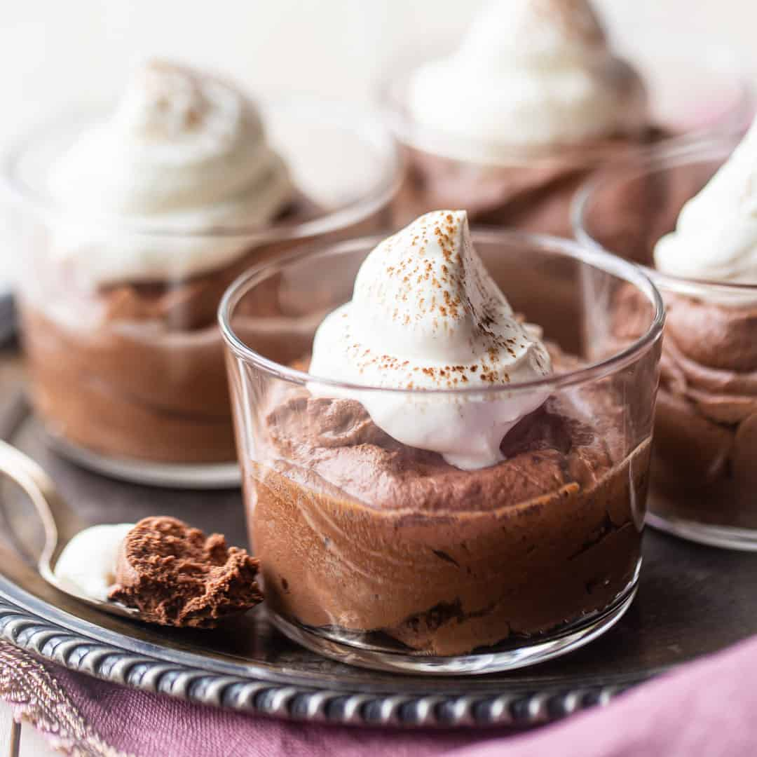 Easy Chocolate Mousse Recipe Made In 15 Minutes Baking A Moment
