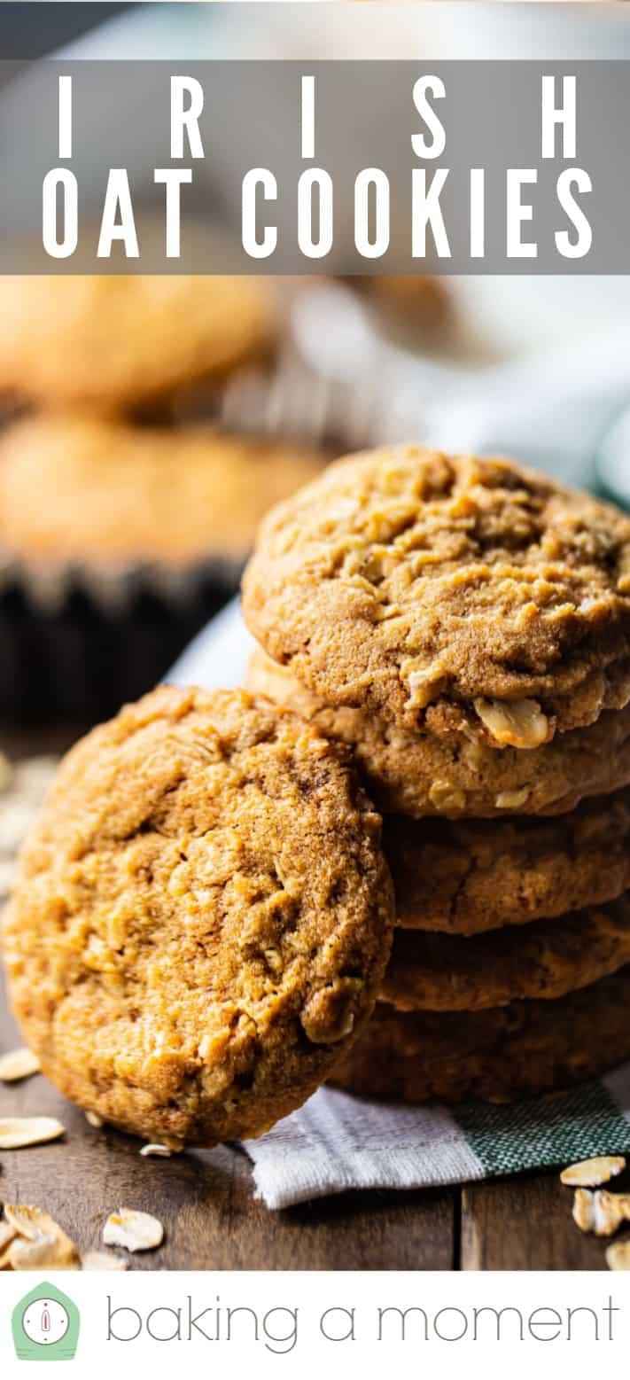 Oatmeal cookie recipe pin 2.