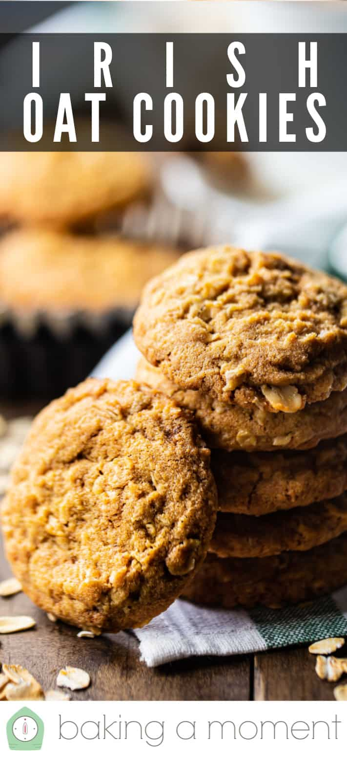 Oatmeal cookie recipe pin 3.