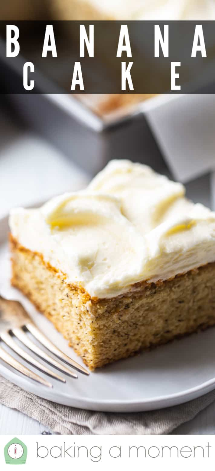 How to make banana cake (pin 3).