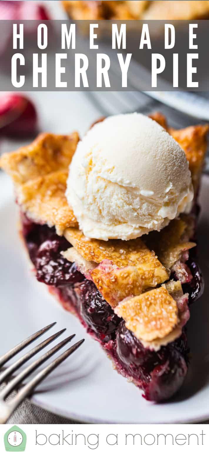 Sour cherry pie recipe.