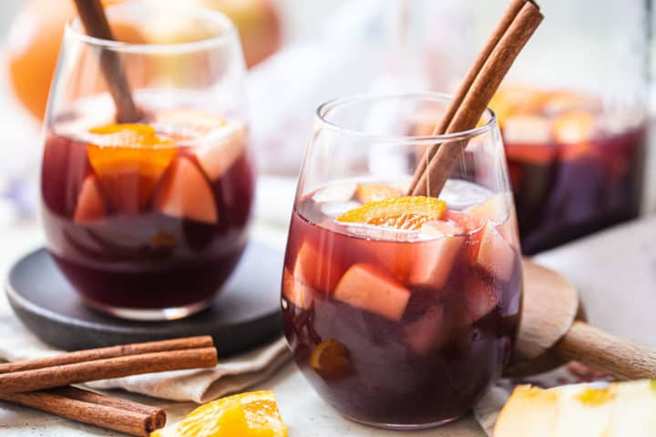 What is sangria, red wine infused with fruit, brandy, and spices.