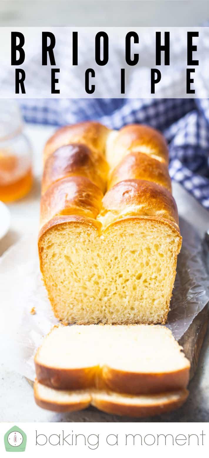 Buttery & delicious brioche loaf.